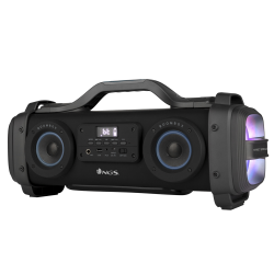 NGS STREETBREAKER ALTAVOZ BLUETOOTH 2.2 200W COMPATIBLE CON TECNOLOGÍA BLUETOOTH-USB-MICROSD-AUX IN.