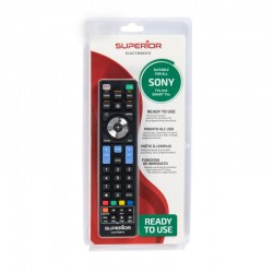 SUPERIOR MANDO REPLACEMENT COMPATIBLE CON TV SONY UNIVERSAL