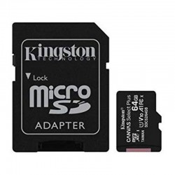KINGSTON SDCS2/64GB MEMORIA MICRO SDXC 64GB ADAPTADOR