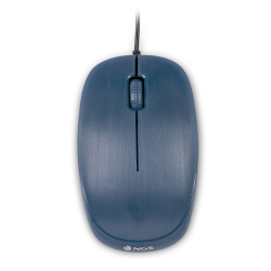 NGS FLAMEBLUE RATON OPTICO CON CABLE