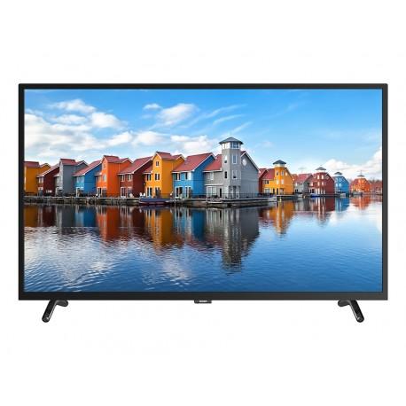 "SVAN SVTV243CSM TELEVISOR 43"" LED-Full HD 1920×1080 píxeles, Smart tv, Android 7.1.1, Wifi interno, Color negro."