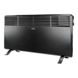 BLACK+DECKER BXCSH1200E CALEFACTOR PARED color negro, potencia 1200 W