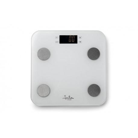 JATA HBAS1501 BASCULA ANALIZADOR CORPORAL Memoria para 13 personas. Báscula capacidad 180 kg. Graduación 100 g.