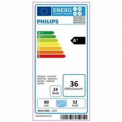 "PHILLIPS 32PHS5525 TELEVISOR 32"" LED Pixel Plus HD. USB:1 HDMI:2 Wifi Integrado"