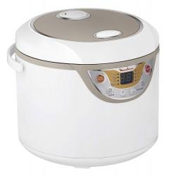 MOULINEX MK302121 ROBOT COCINA MAXICHEF 8 programas de cocción, inicio programado y mantenimiento en caliente automático