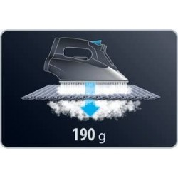 ROWENTA DW8115D1 PLANCHA ROPA potencia 2600W. Golpe de vapor 180g/min. Suela microsteam