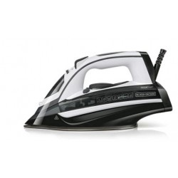 BLACK&DEKER BXIR2802E PLANCHA VAPOR 2800 W , potente golpe de vapor de 180g/min, vapor constante regulable de 0-35g/min.