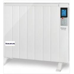 TAURUS TANGER1500 RADIADOR 7 elementos, 1500 W potencia. Temperatura ajustable de 5ºC a 35ºC. Programación diaria y semanal.