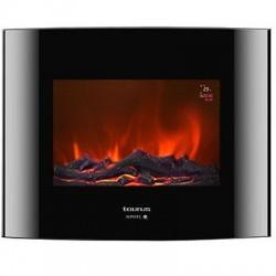 ALPATEC TORONTO P CHIMENEA ELECTRICA 2000 W. 2 Posiciones de calor. 5 Intensidades de llama. Programación diaria y semanal.