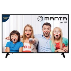 "MANTA 50LUA58L TELEVISOR 50"" LED 4K Ultra HD, Smart TV"