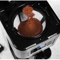 CECOTEC 1555 Cafetera de goteo Route Coffee 66 Smart Programable, 950 W,