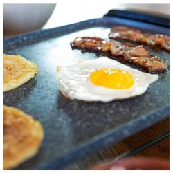 CECOTEC 3088 Plancha de Asar Tasty&Grill 3000 RockWater 2600W