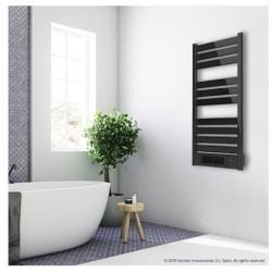 CECOTEC 5355 Toallero eléctrico con calefactor Ready Warm 9790 Ceramic Towel Potencia total de 2000 W