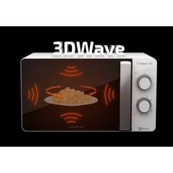 CECOTEC 1523 Microondas 20l con grill ProClean 3110