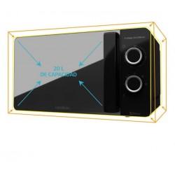 CECOTEC 1526 Microondas 20l ProClean 3040 Mirror