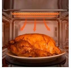 CECOTEC 1535 Microondas 20l con grill ProClean 5110 Inox