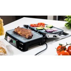 CECOTEC 3060 Parrilla eléctrica Rock'n grill 1500 Take&Clean