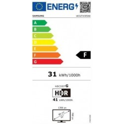 "SAMSUNG UE32T4305AK TELEVISOR 32"" SMART TV HD Ready LED F"