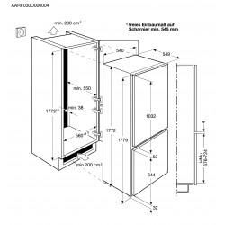 ELECTROLUX ENN2811BOW FRIGORÍFICO COMBI CÍCLICO 177 CM A+ BLANCO