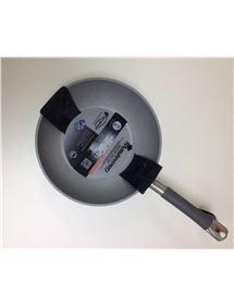 SAN IGNACIO SG-6105 WOK 28 CM ACERO INOX