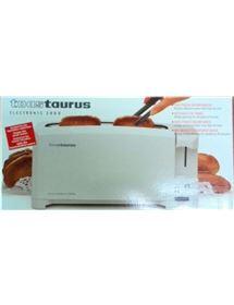 TAURUS ELECTRONIC 2000 TOSTADOR +ENCHUFE 890W - ELECTRONIC2000