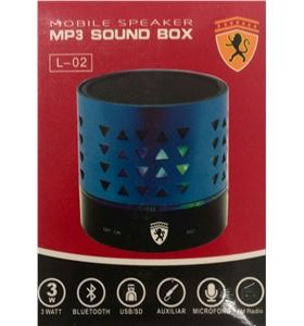 ALTAVOZ MINI L05 3W BLUETOOTH USB - L02