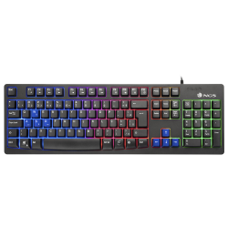 NGS GKX300 TECLADO GAMING CON LUCES LED