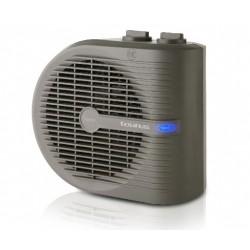 TAURUS TROPICANO 2.5 CALEFACTOR 2000W con termostato regulable, 3 posiciones frío/calor y asa de transporte.