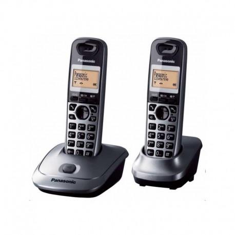 PANASONIC KXTG2512SPM TELEFONO DUO